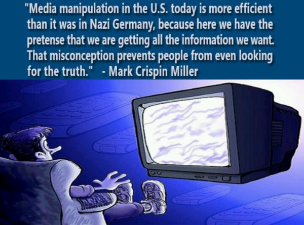 maipulation by the media
