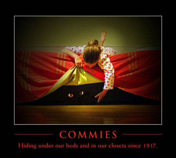 Commies under our beds