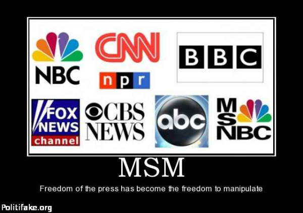Main stream media lies